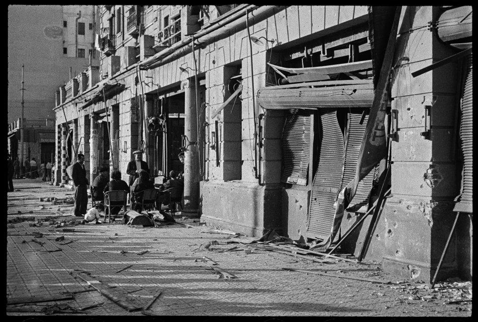 Antoni Campañà nació en Arbúcies en 1906 y murió en Sant Cugat en 1989. Toda su vida se dedicó a la fotografía, tuvo varias tiendas en Barcelona, al fotoperiodismo deportivo.