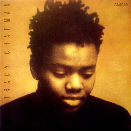 Portada del disco debut de Tracy Chapman