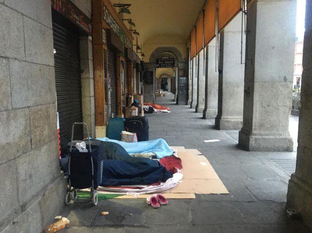 Coronavirus Cientos De Personas Sin Hogar Siguen Durmiendo En La Calle En Madrid Hoy Por Hoy Actualidad Cadena Ser