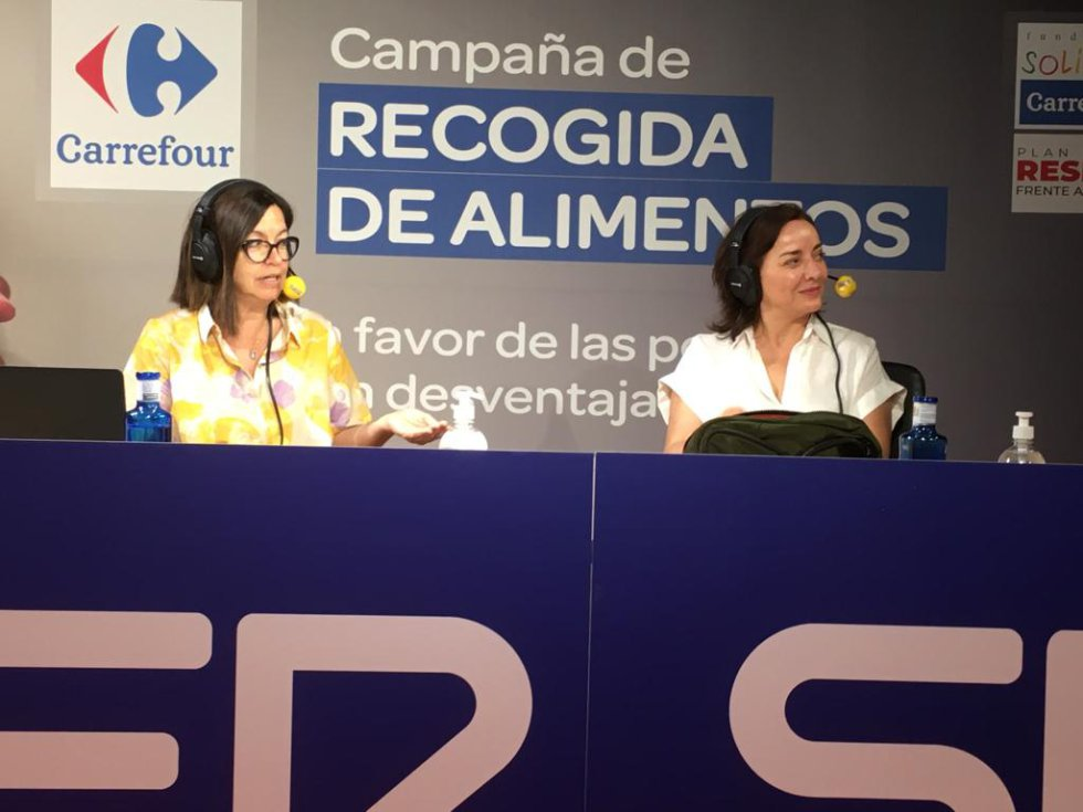 Àngels Barceló y Pepa Bueno, en el especial del 'Hoy por hoy'.