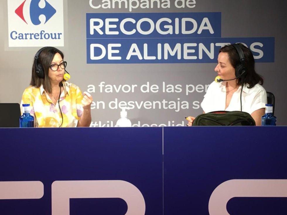 Àngels Barceló y Pepa Bueno, en el especial de 'Hoy por hoy'.