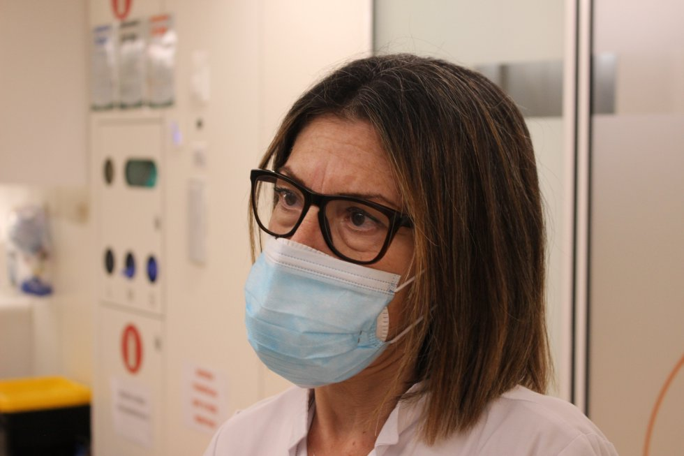 Santi Fernández, la coordinadora asistencial de las urgencias del Hospital Clínic de Barcelona
