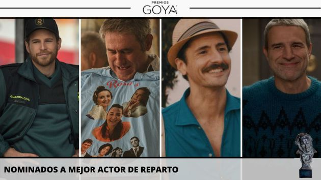 Nominados a mejor actor de reparto