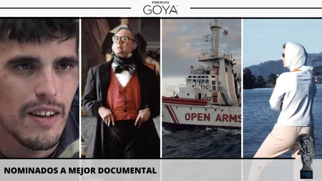 Nominadas a mejor documental