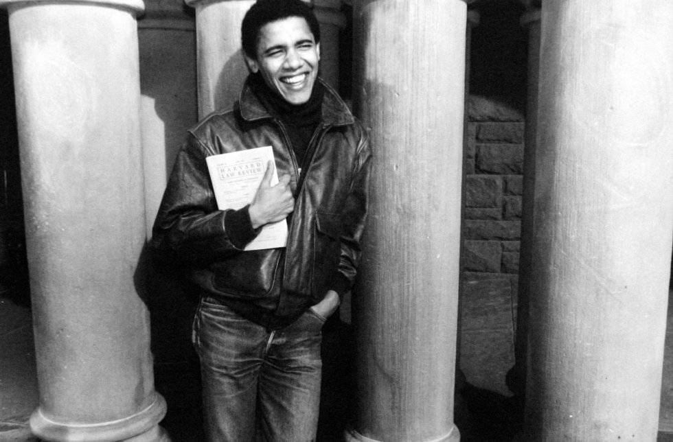 La trayectoria de Obama, en imágenes
