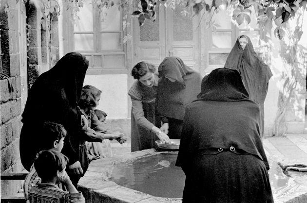 Fotografía de la República Árabe Siria en 1950