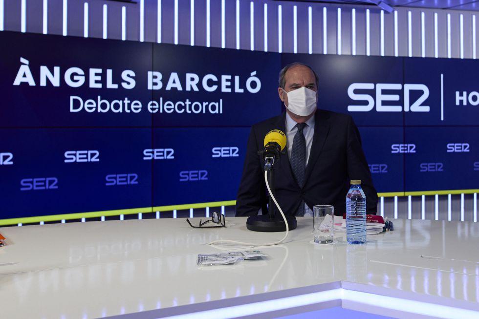 """Tras la marcha de Iglesias por los comentarios de Monasterio, Gabilondo ha sido claro en el debate: """"No podemos dejar que el odio se imponga""""."""