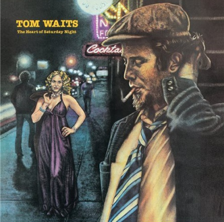 Portada del segundo disco de Tom Waits