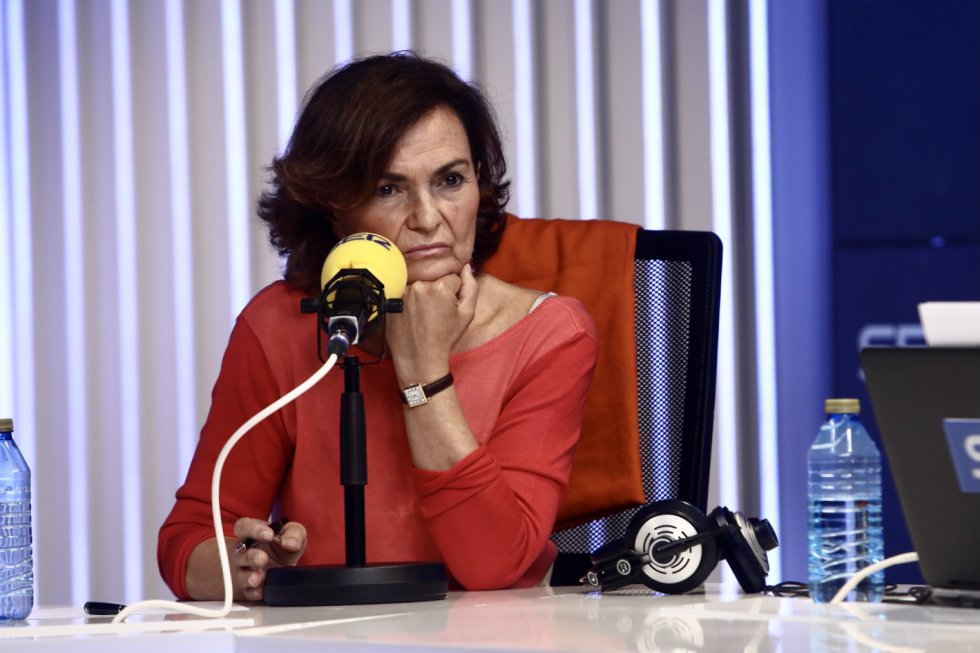 Carmen Calvo en 'Hora 25'.