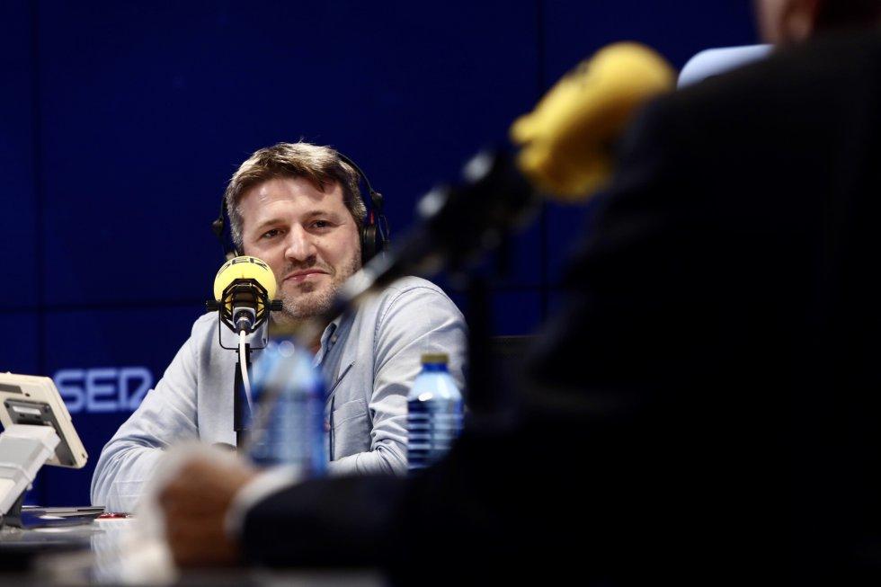Aimar Bretos, director de 'Hora 25'.
