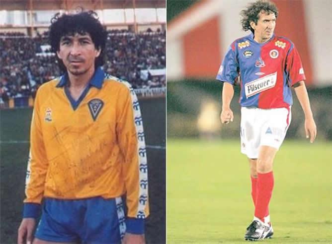 A la izquierda Mágico González en sus inicios  a la derecha en una  fotografía en 88877c5a2cb64
