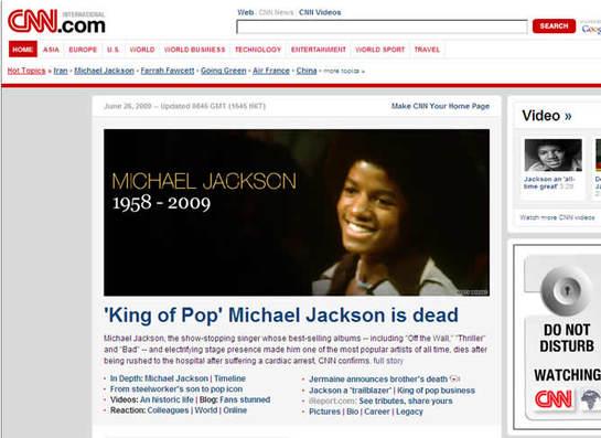 FOTOGALERIA: Las portadas del mundo entero son para Michael Jackson