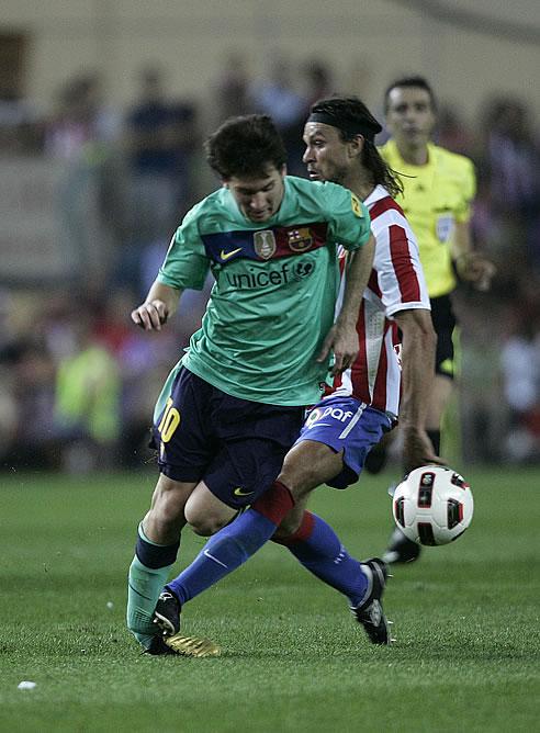 """Ujfalusi: """"Tuve mala suerte porque fue Messi, el mejor jugador del ..."""