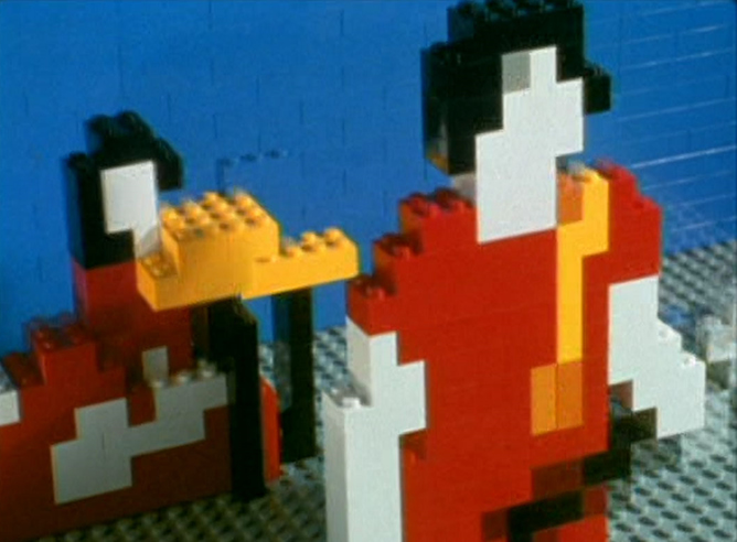 Imagen del vídeo musical de White Stripes de Michel Gondry