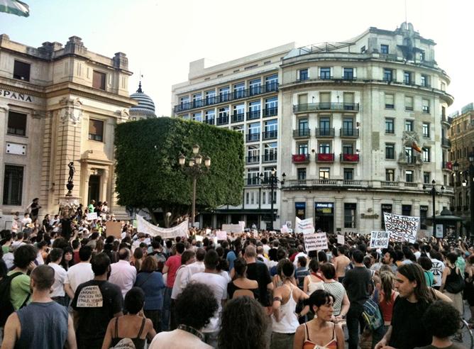 #15mani en Sevilla