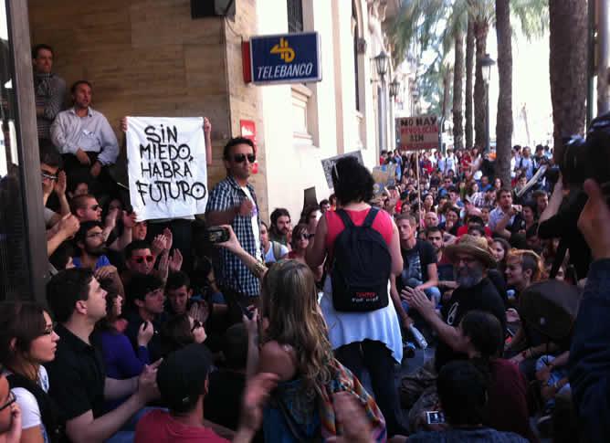 Imagen de las concentraciones en Valencia