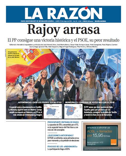 """""""Rajoy arrasa"""""""