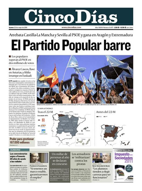 """""""El Partido Popular barre"""""""