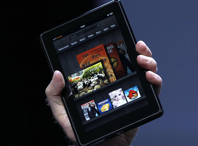 Amazon lanza su 'tablet' 'Kindle Fire' para intentar competir con el iPad