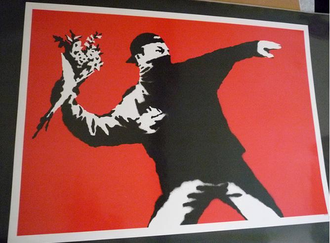 Los Iconos Urbanos De Banksy A Subasta Cultura Cadena Ser