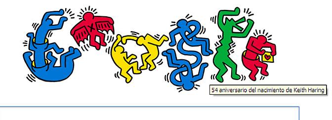 Keith Haring, doodle de Google | Cultura | Cadena SER