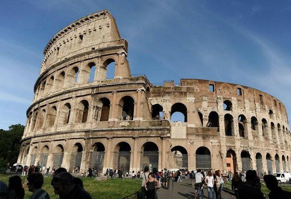 El Coliseo De Roma También Se Inclina Sociedad Cadena Ser