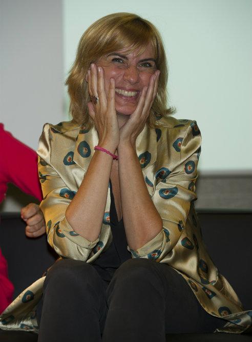 Gemma Nierga se mostró ilusionada durante la presentación de la Cadena SER