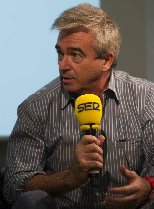 Carles Francino, director de La Ventana, durante la presentación de la nueva temporada de la SER