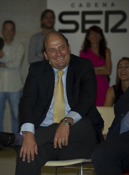 Alejandro Nieto, director general de la Cadena SER