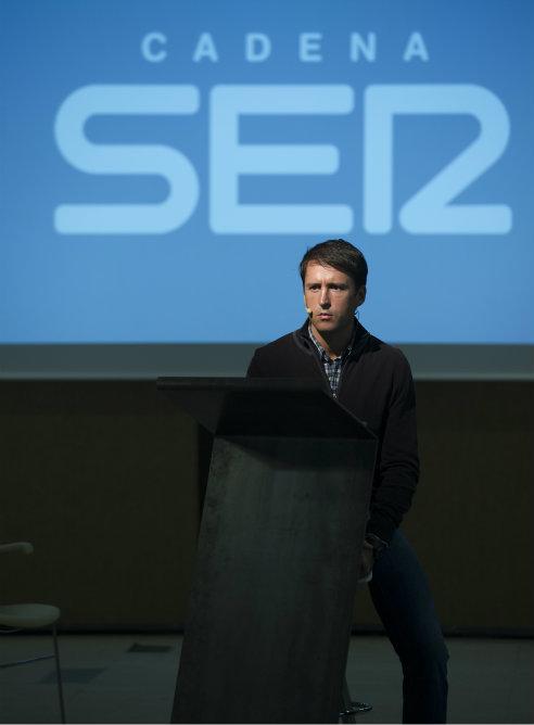 Miguel Ángel Muñoz Encinas, durante la nueva temporada de Cadena SER