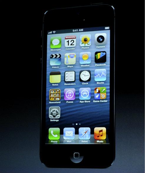 Así es el nuevo iPhone 5