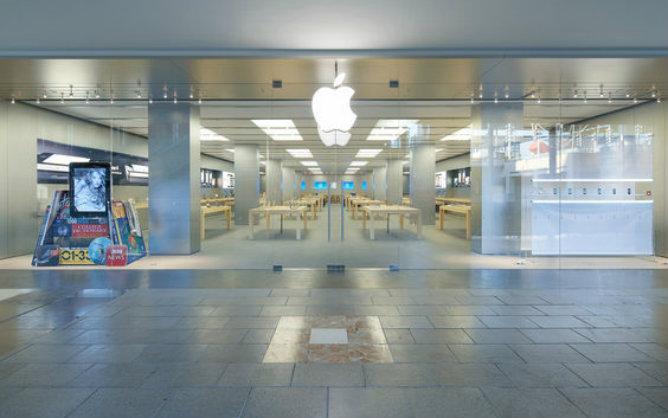En el evento se han podido ver imágenes de la Apple Store de Barcelona