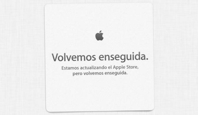 Como viene siendo constumbre, Apple ya ha cerrado su tienda online, la Apple Store para preparar el lanzamiento de sus nuevos productos