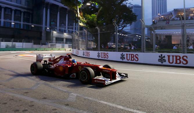 El Gran Premio de Singapur, en imágenes | 23-09-2012