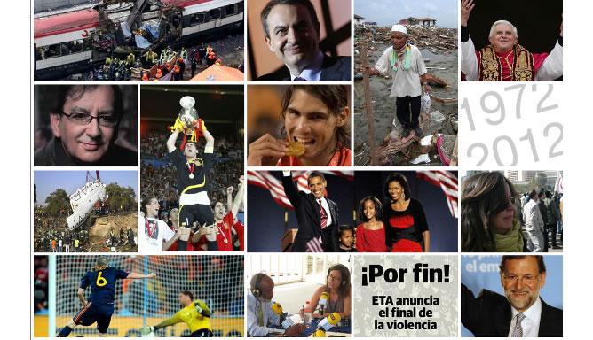 Premios Ondas 2012. Imagen del especial de 'Hora 25', 40 años de periodismo en la radio