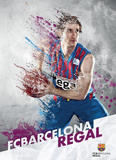Imagen promocional del F.C. Barcelona para la Copa del Rey de baloncesto.