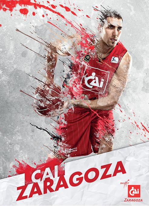 Imagen promocional de la Copa del Rey de baloncesto 2013.