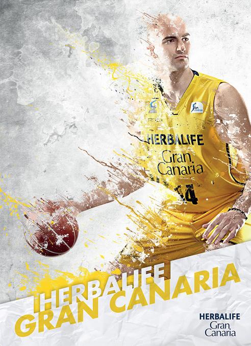 Imagen promocional de la Copa del Rey de baloncesto 2013, que se disputa en Vitoria