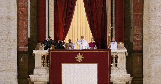 Francisco I es el nuevo sumo pontífice