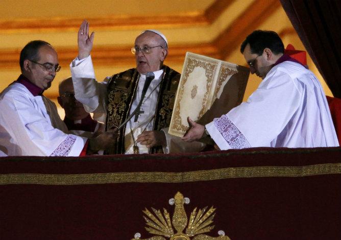 El papa Francisco I se ha dirigido a los fieles con un discurso muy cercano, según los expertos