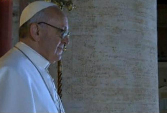 El papa es descendiente de italianos emigrados a Argentica