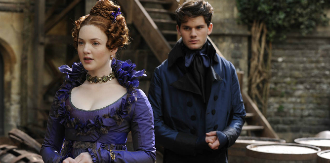 Holliday Grainger y Jeremy Irving en 'Grandes Esperanzas'