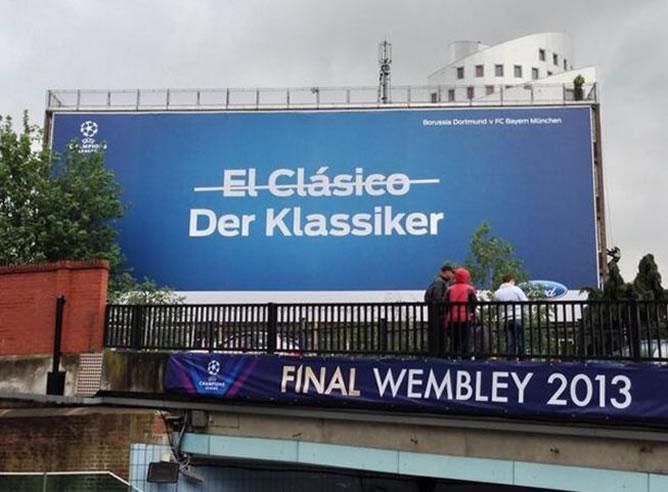 La UEFA ironiza con el Real Madrid-Barça que pudo ser y no fue.