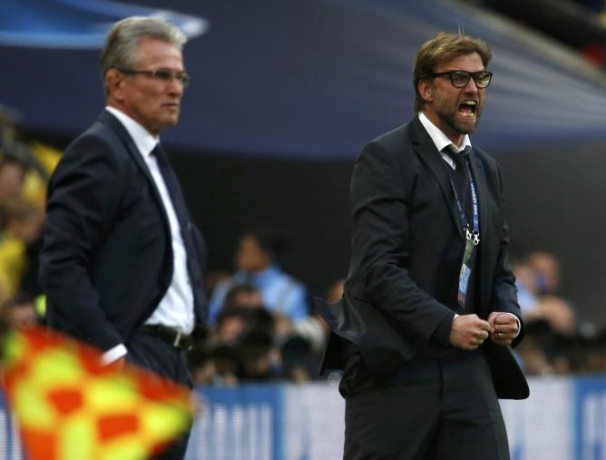 Heynckes y Klopp, cada uno a su manera en los banquillos de Wembley