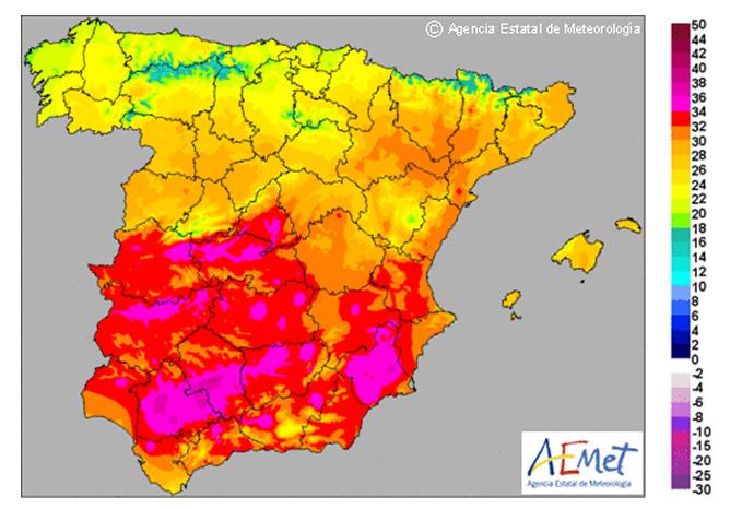 Mapa Del Tiempo España Fin De Semana.El Tiempo Sera Caluroso Este Fin De Semana Antes De Una