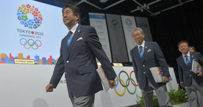 La delegación de Japón presenta su candidatura para los Juegos Olímpicos de 2020 ante los miembros del COI