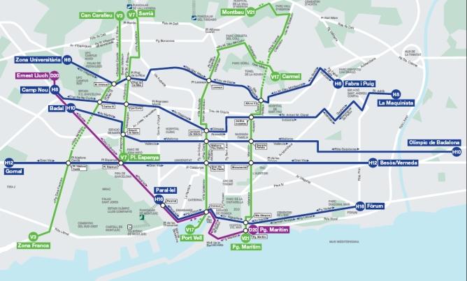 Barcelona Estrenara 5 Noves Linies D Autobus D Altes Prestacions
