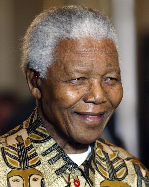 El ex presidente sudafricano, una foto del último año