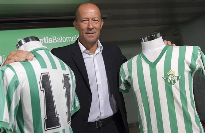 Calderón empieza a trabajar con el Betis