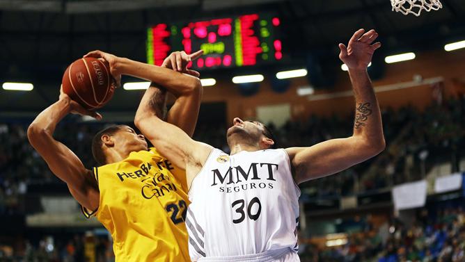 El Real Madrid abusa del Herbalife Gran Canaria | Play Basket ...